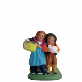 7138 - Le couple d'enfants - Collection 7cm