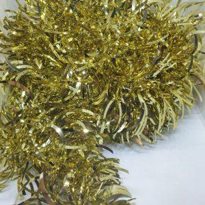 guirlande dorée noël