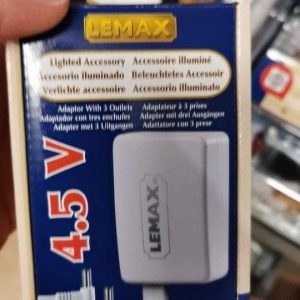 Lemax 3,5V adaptateur avant