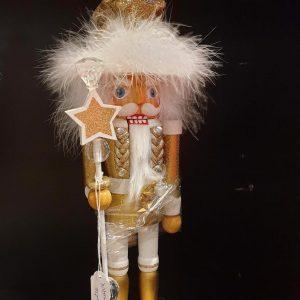 casse-noisettes doré avec chapeau hollywood kurt s. adler