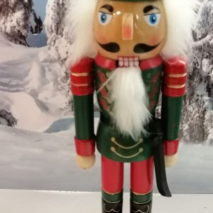 soldat en bois vert face